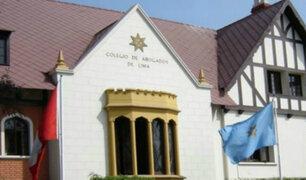 Colegio de Abogados inhabilitará colegiatura de Rodolfo Orellana