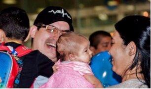 ONG trae a niños venezolanos a Lima para que se reencuentren con sus padres