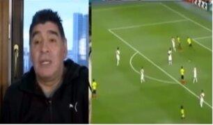 """""""Perú tiene que jugarle de forma sutil a Francia"""", asegura Maradona"""