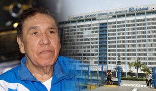 """El """"Gordo Casaretto"""" es internado de emergencia en hospital Rebagliati"""