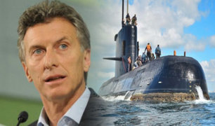 "Argentina: declararán tres días de duelo nacional tras la tragedia de submarino ""ARA San Juan"""