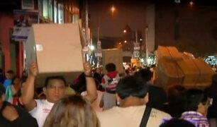 Mercado Central: caos y falta de seguridad en calles
