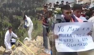 Cajamarca: hombre confiesa haber asesinado a su nuera y dos nietos