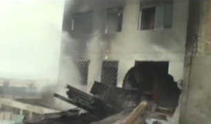 VES: explosión de camión deja dos muertos y varias familias damnificadas