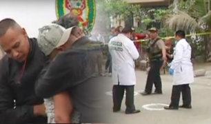 San Martín de Porres: hombre es asesinado de 10 disparos en la puerta de su vivienda