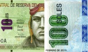 Conozca los nuevos billetes de 10 y 100 soles que ya están en circulación