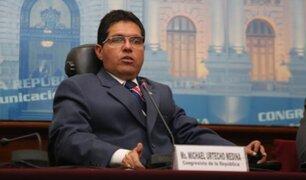 Ex congresista Michael Urtecho no puede sustentar más de S/.2 millones de su patrimonio