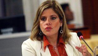 Mercedes Aráoz sobre eventual fallo de la CIDH: debemos obedecer a nuestra Constitución