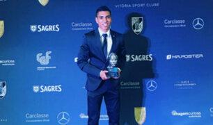 Paolo Hurtado fue elegido el mejor jugador del año en Vitoria Guimaraes