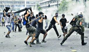 Grecia: se registran violentas protesta en Atenas y Tesalónica
