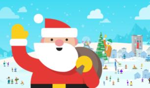 Santa Tracker: ¡Google celebra la Navidad con juegos durante todo diciembre!