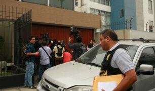 Parlamentarios se pronuncian tras allanamiento a dos locales de Fuerza Popular