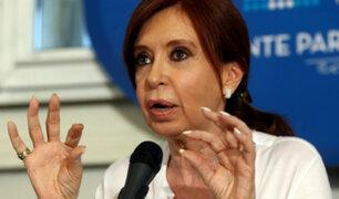 Senado argentino aprueba allanamientos a Cristina Fernández