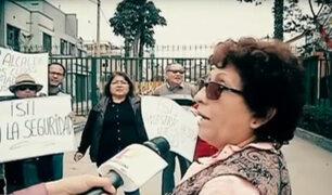 Vecinos enfrentados por rejas instaladas en un parque de La Victoria