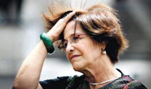 PJ dictó comparecencia restringida para Susana Villarán por caso Odebrecht