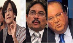 Susana Villarán, Luis Nava y Enrique Cornejo pasan a calidad de investigados
