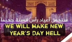 Estado Islámico amenaza con atentar París en Año Nuevo