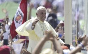 Papa Francisco: Estoy soñando con llegar al Perú