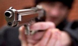 Delincuentes roban dinero de conocida agencia bancaria de SJL