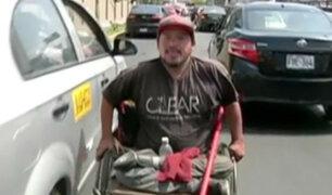 La historia de Hugo: El limpiavidrios de la Av. Arenales