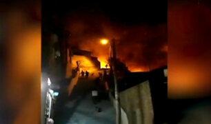 Chosica: niño muere tras incendio en taller clandestino de pirotécnicos