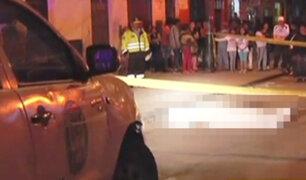 La Victoria: matan de cuatro balazos a requisitoriado por asesinato