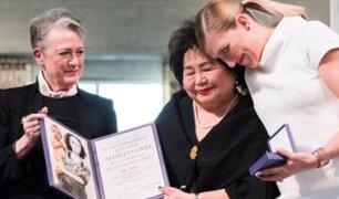 Noruega: antinucleares reciben Nobel de la Paz
