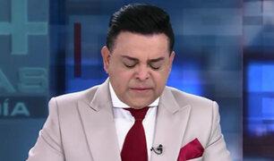Andrés Hurtado se quiebra en vivo por la dura situación de los niños en Venezuela