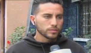 SMP: futbolista Zagaceta sospecha que lo extorsionan desde penal