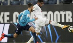 Farfán anota doblete con el Lokomotiv ante Tosno por la liga rusa