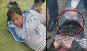 Huaraz: PNP captura a peligrosa banda de asaltantes de carreteras