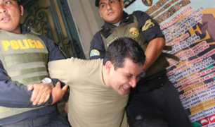 Capitán PNP que se desnudó y agredió a mujer policía fue internado en penal de Lurigancho