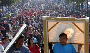 México: se realiza multitudinaria peregrinación a la Basílica de Guadalupe
