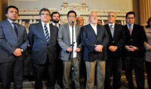 Bancada de PPK y congresista Yonhy Lescano renunciaron a la Comisión de Ética