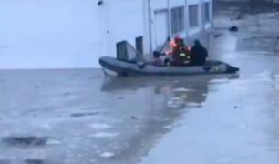 Italia: miles de personas fueron evacuadas tras intensas lluvias