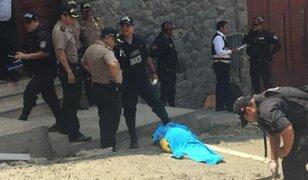 VMT: delincuentes asesinan a obrero tras arrojarle artefactos explosivos