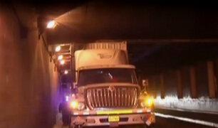 Callao: chofer en aparente estado de ebriedad provoca accidente de tránsito