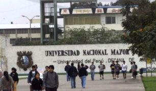 UNMSM: podrían suspender clases de verano si alumnos continúan protestando