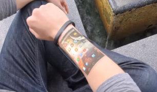 Conoce la pulsera que convierte tu piel en un smartphone