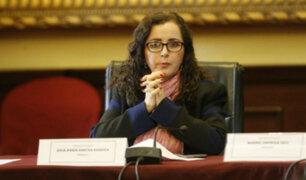 Gilbert Violeta: Rosa Bartra podría recibir una acusación constitucional