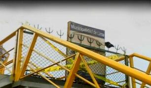 Miraflores: puente peatonal en playa Los Delfines está clausurado