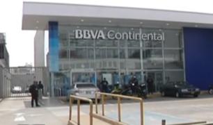 La Molina: ladrones asaltan agencia bancaria y se llevan 30 mil soles