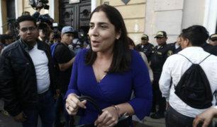 Fiscal Pérez afirma que congresistas de Fuerza Popular obstruyeron allanamiento a sus locales