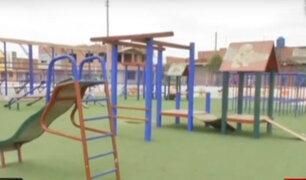 Barranco: vecinos denuncian mal estado de juegos para niños en parque 'La Familia'