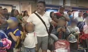 Frustrado reencuentro: gobierno venezolano impide a niños viajar al Perú