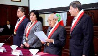CIDH ordena suspender proceso contra miembros del Tribunal Constitucional
