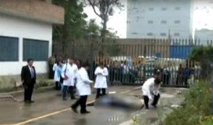 Ate: asesinan de un balazo en la cabeza a vigilante