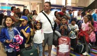 Recomiendan a gobierno peruano denunciar a Venezuela por frustrado viaje de 130 niños