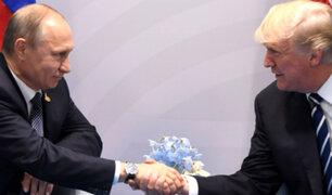 Rusia: Putin agradece a Trump por impedir atentados