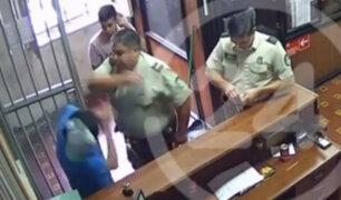 Chile: carabinero agrede a un peruano en una comisaría